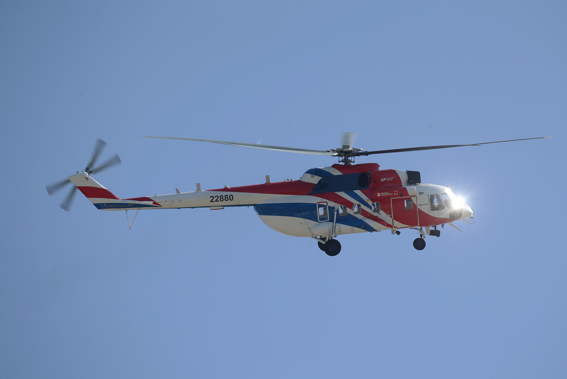 Russian Helicopters ready to deliver six Mi-171A2 helicopters to a Chinese company
