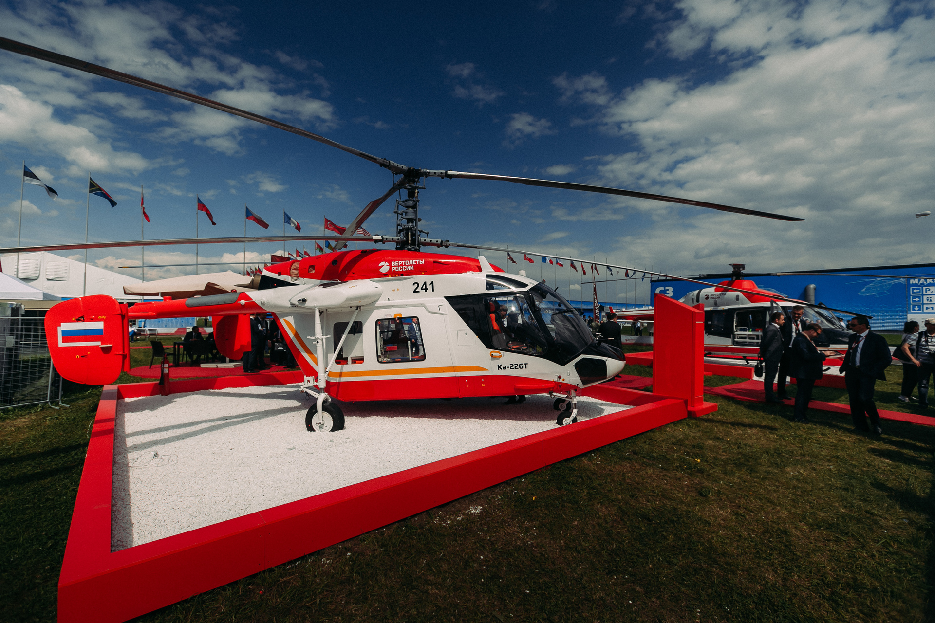 Russian Helicopters identified potential partners in localization of Ka-226T in India