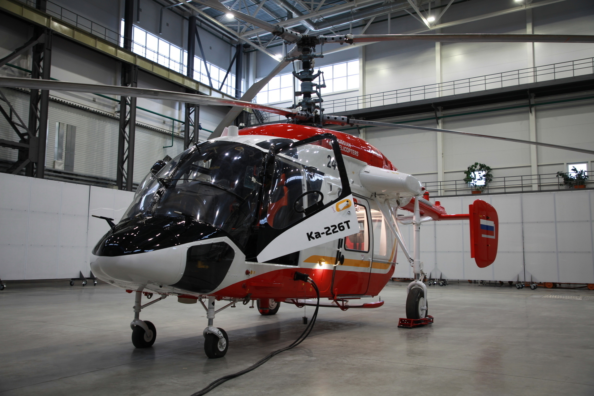 Russian Helicopters conducted a conference with the Indian suppliers for the Ka-226T project