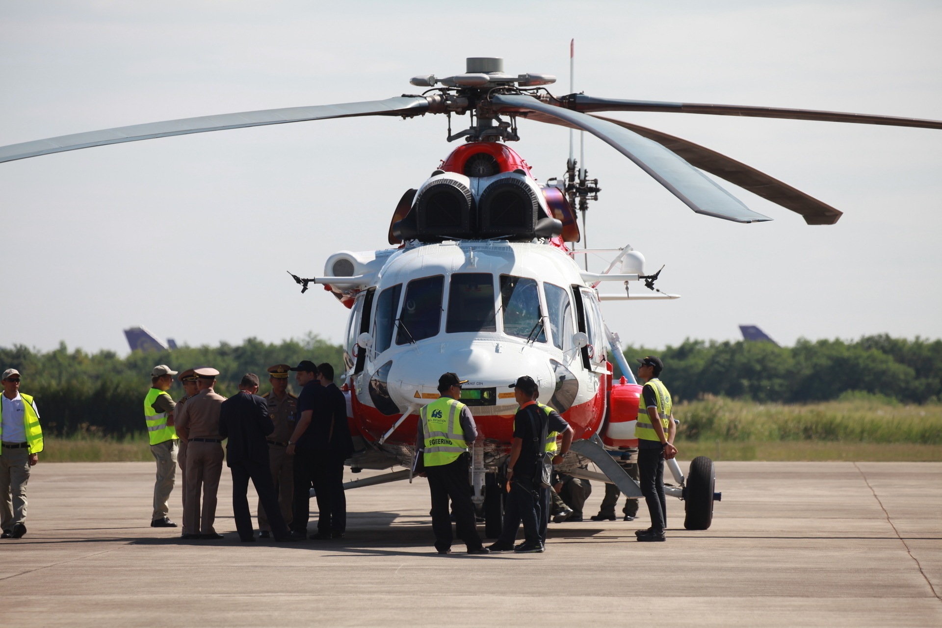 "JSC ""Russian Helicopters"" holds the South Asian Heli Tour demonstrating Ansat and Mi-171A2 helicopters in Thailand"