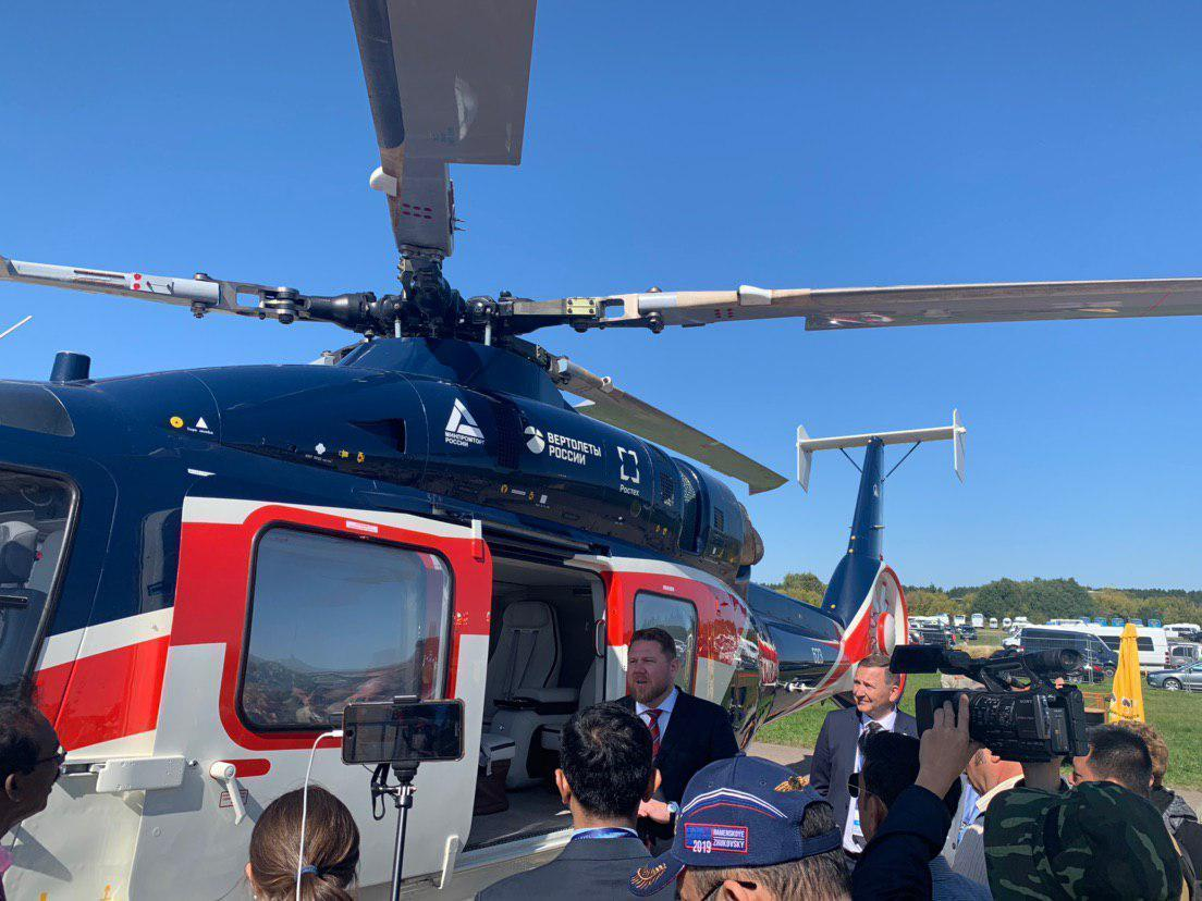 Russian Helicopters to present three civilian novelties at MAKS-2019 air show