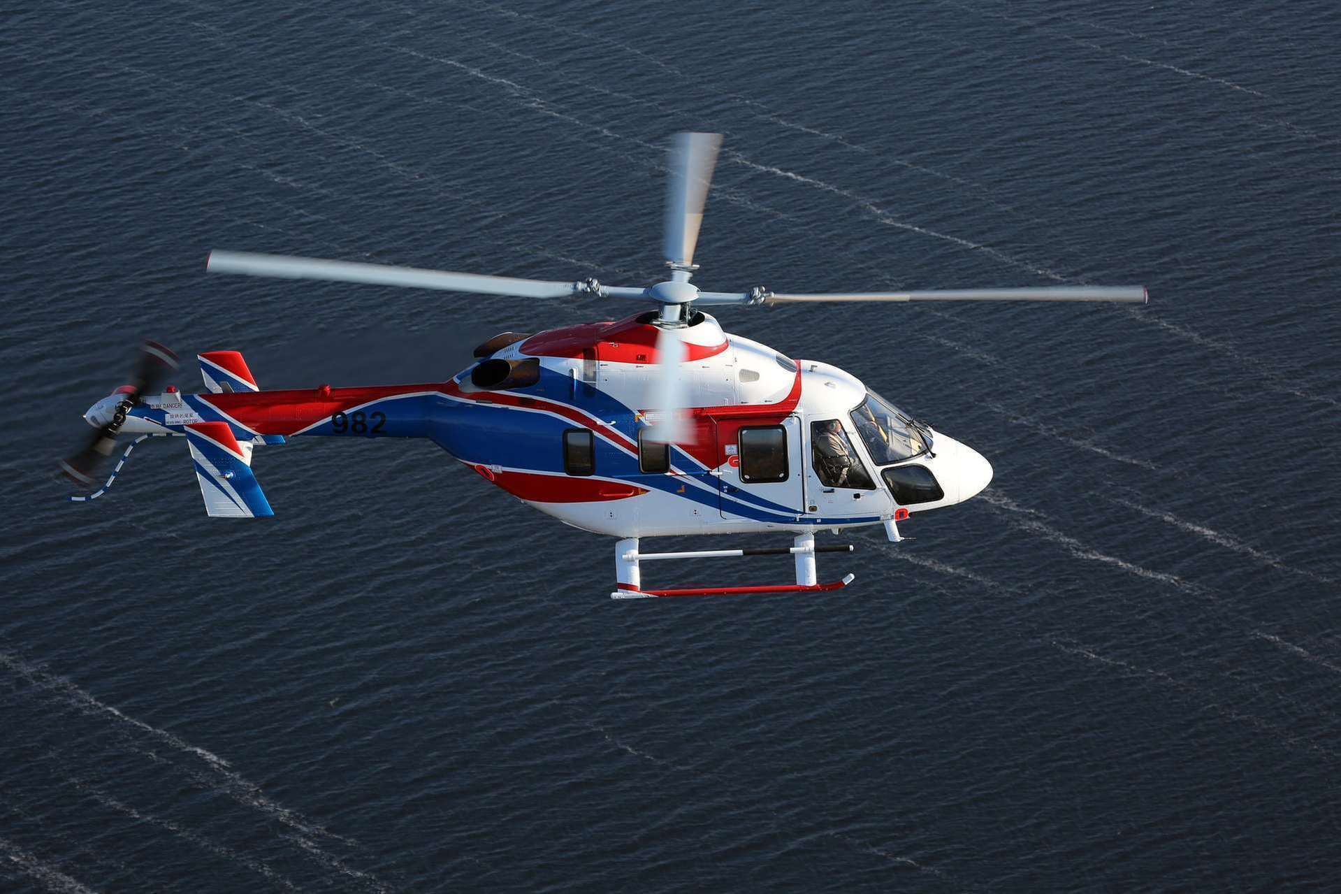 Russian Helicopters demonstrates Ansat with a new satellite communication system at Paris Air Show 2019