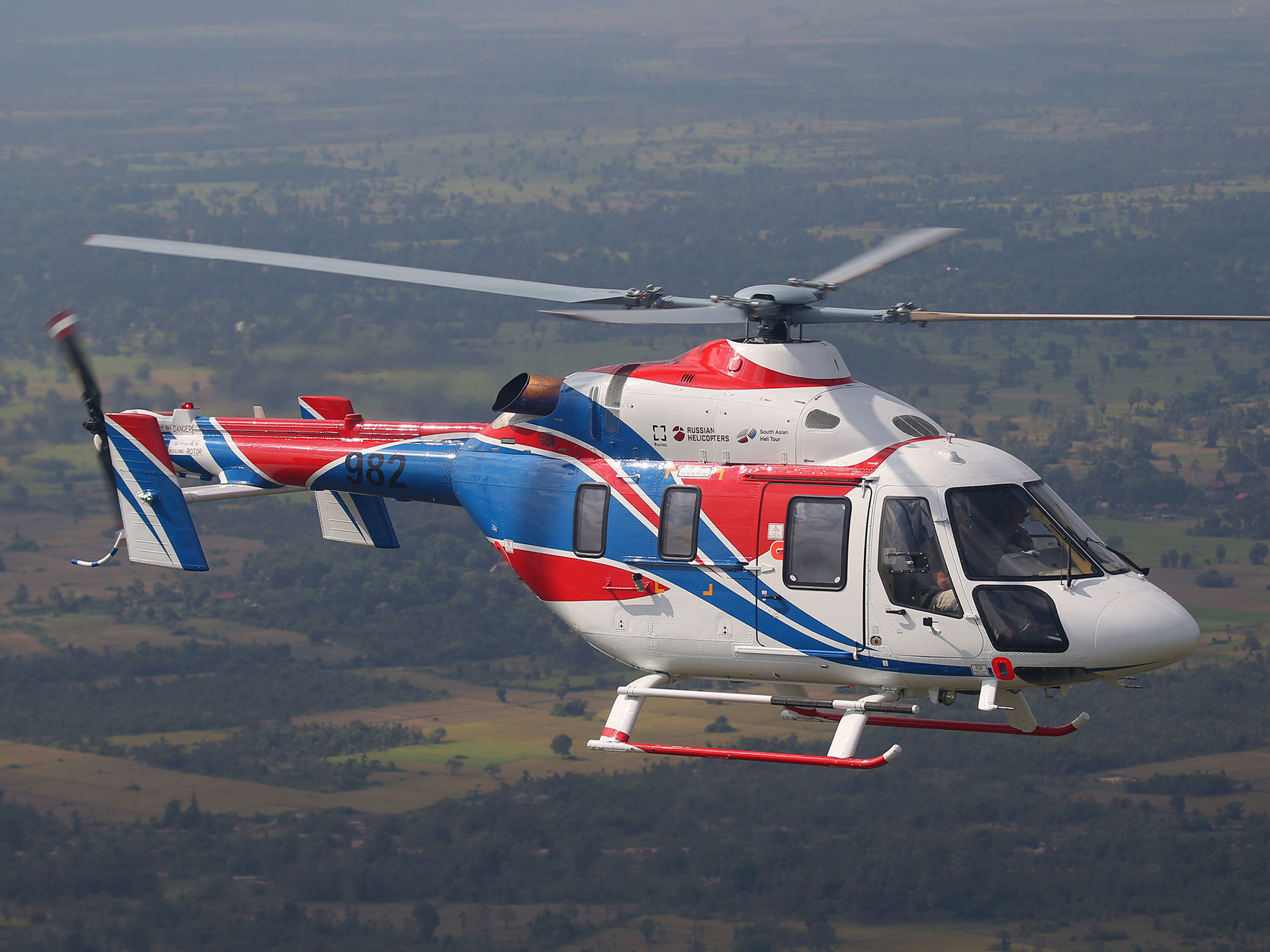 Russian Helicopters demonstrates a modernized Ansat concept at Paris Air Show 2019