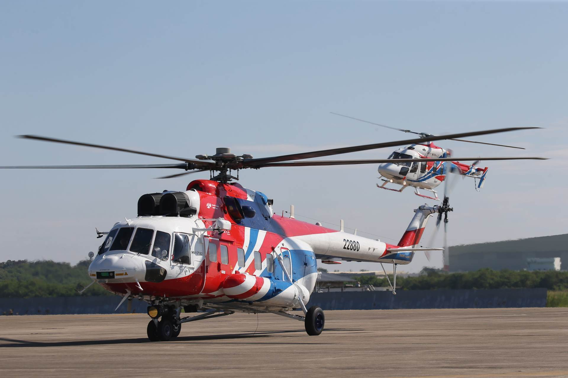 Russian Helicopters presented convertible Mi-171A2 at MAKS