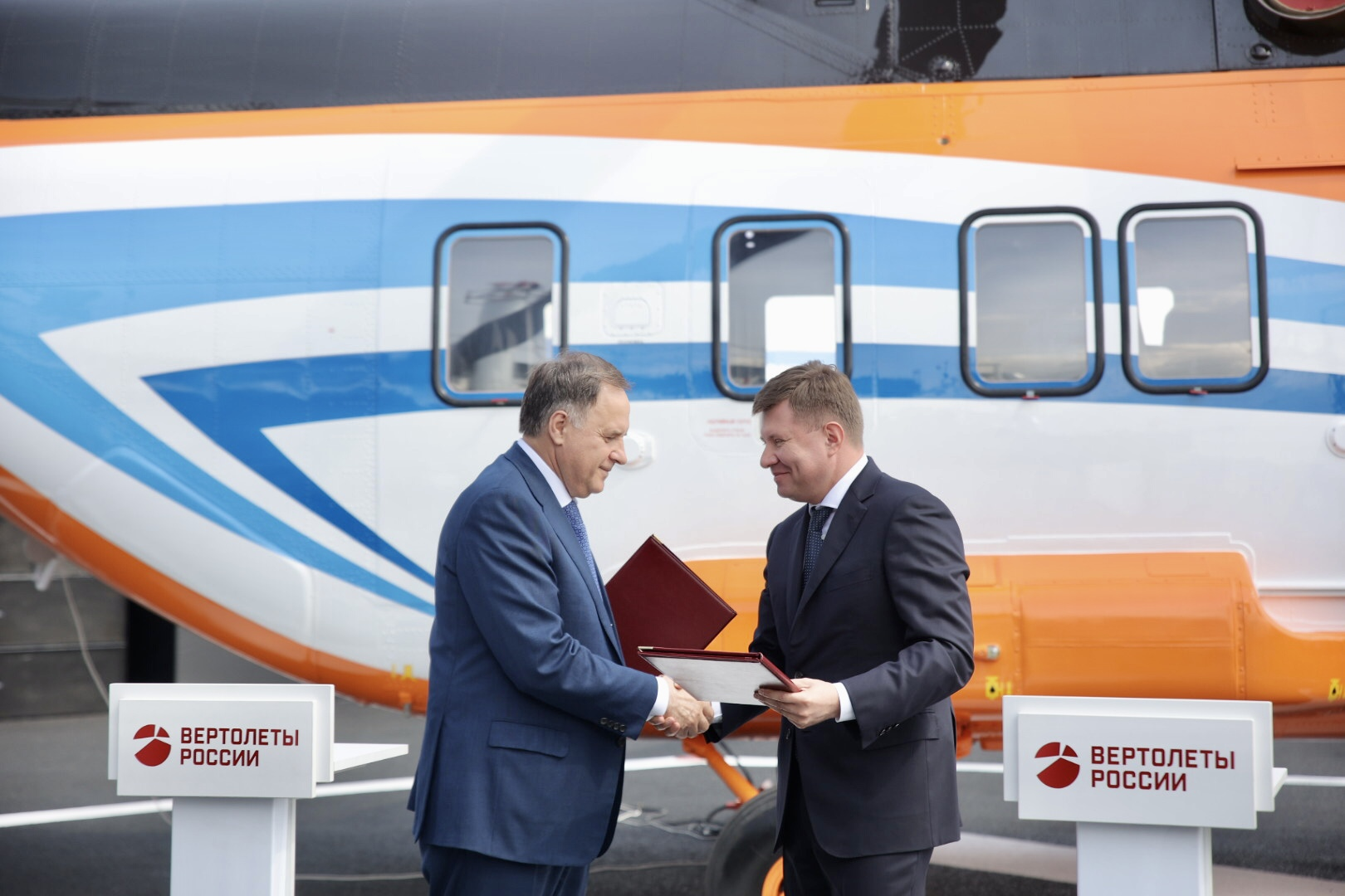 Russian Helicopters and VTB will cooperate in the field of civil helicopter construction